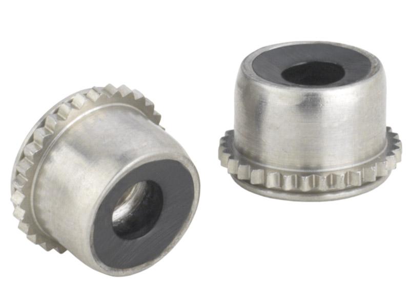Nylon insert self locking fasteners types pl and plc